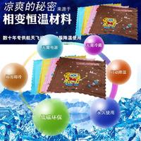Cool cartoon graphic patterns multifunctional dog ice pad liangdian summer pet ice pad dog mat