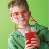 Free shipping DIY straw creative interesting funny glasses Cartoon glasses