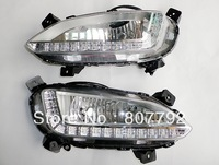 2013 Hyundai Santa Fe ix45 High quality LED Daytime running lights front Fog lamp Fog Lights