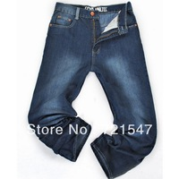 jeans men wholesale and retail ,High quality pure cotton Plus-size loose type in the new2013.Free shipping!