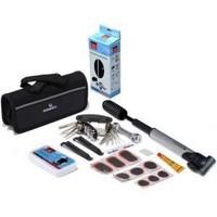 18 pcs/set bicycle repair tools kit mountain bike tire repairing tools multifunctional combination tools set for cycling