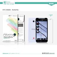 High Quality Original Nillkin HD Clear Screen Protector For HTC X920d Butterfly /J butterfly, Anti-fingerprint,2PCS/lot