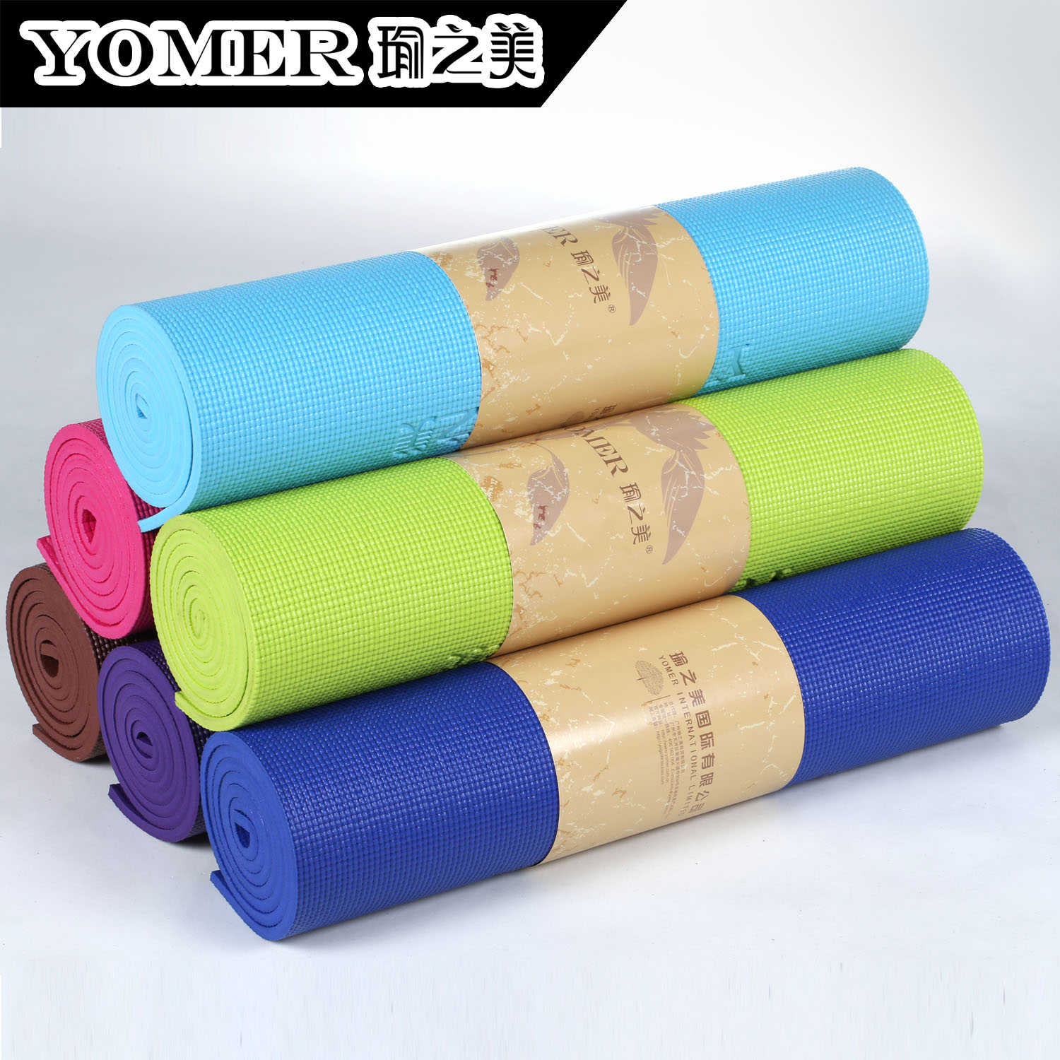 Yoga mat slip-resistant 10mm thickening yoga mat yoga carpet fitness mat m0210(China (Mainland))