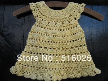 Wholesale vintage crochet baby princess dress, girl dresses, infant, wedding, ball gowns, newborn, custom 2 pcs