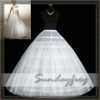 Free Shipping Cheap Nylon / Tulle Ball Gown Wedding Petticoat -014
