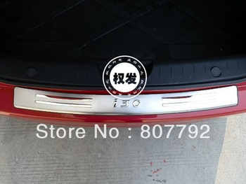 2007-2009 Hyundai i30 & CW High quality stainless steel Rear bumper Protector Sill
