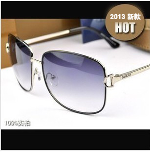 Glasses metal rack sunglasses 2873 Women vintage sunglasses big box(China (Mainland))