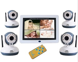 Wireless Digital Baby Monitor IR Video Talk one Camera Night Vision video Baby Monitor(China (Mainland))