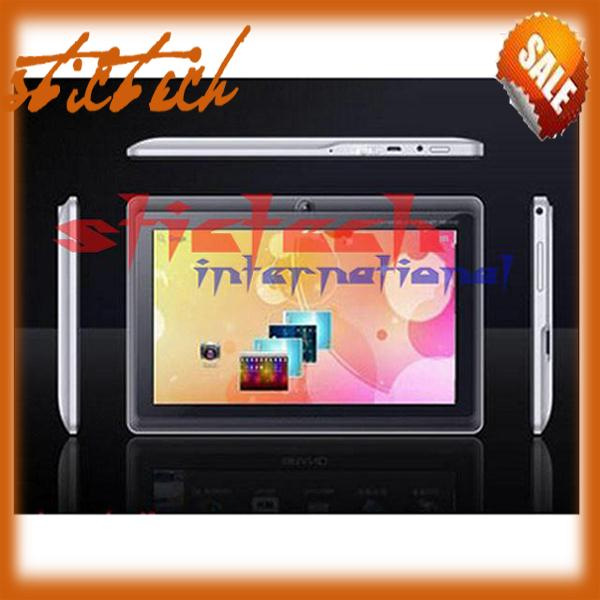 50% SHIPPING FEE 10 pieces 7&#39;&#39; tablet pc Allwinner A13 Q88 5 point capacitive Screen+android 4.0+1.2GHz 512MB 4GB+Webcam+Wifi(China (Mainland))