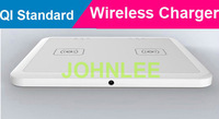 Qi Standard Dual charging Mat Wireless Charger Transmitter Pad for iPhone Samsung Galaxy S3 Note2 Nokia Lumia 920/820