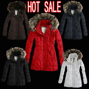 Hot sale Free shipping 2013 new women's hooded long down jacket Women's casual down jacket Ms. warm winter coat