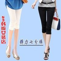 Summer women's slim skinny pants women's plus size elastic pencil pants casual pants female
