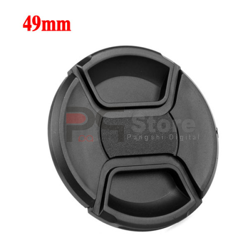 Snap on Front Cap For 49mm Canon Nikon Sony Pentax Lens(China (Mainland))