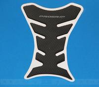 Free Shipping Motorcycle Carbon Fiber Tank Pad TankPad Protector Black