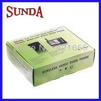 2.4GHz wireless smart video door phone interphone intercom home security doorbell free shipping