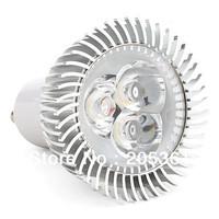 10pcs/lot GU10 Dimmable 6w Led Spot light Spotlighting warm white / white 85-265V