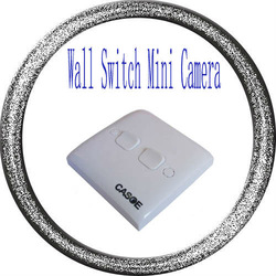 Free Shipping, Wall Switch mini camera Home security Hidden Mini DV With Motion Detection Sample(China (Mainland))