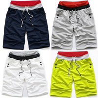 Fashion all-match sports pants casual shorts chromophous 2728