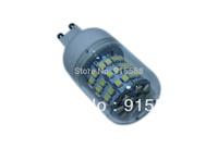 5Pcs/Lot SMD 60pcs 3528 LED 200-240V LED Spot Light G9 Bulb Lamp Cold white / Warm White 360 Degree Free Shipping