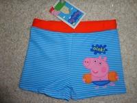 New Style free shipping peppa pig boy george pig swim wear bather swimsuit swimwear