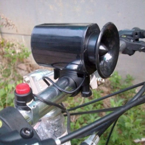Cycling Bike Bicycle Ultra-loud 6 Kinds Sounds Electronic Horn Bell Ring Siren(China (Mainland))