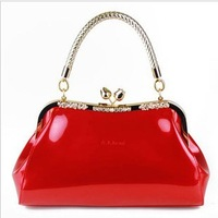 Women's bags 2013 women's handbag japanned leather handbag shoulder bag  small bag