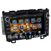 8 Inch HDTouchscreen Fastest 800 MHz CPU For Honda CR-V  Head Unit Car Stereo 10 Background Picture and 7 Color Bottom Light