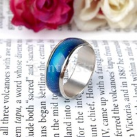 Free Shipping  Emotion Feeling Mood Color Changeable Magic Ring US Size 7 1/2