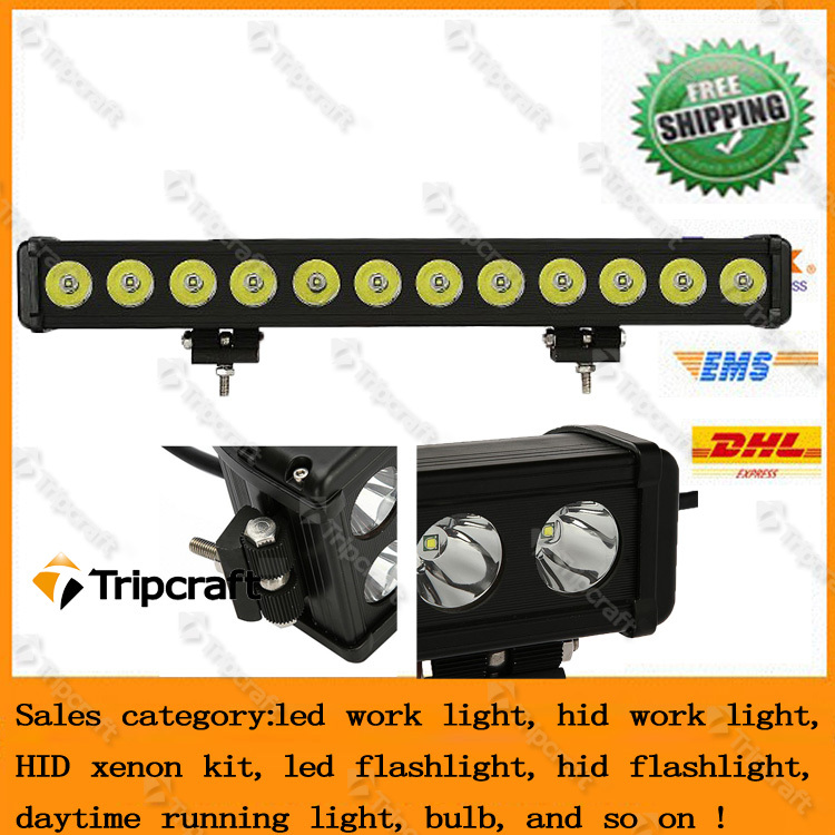 Factory Sale 12pcs*10w cree light 120W Offroad LED Bar Working Light Waterproof 120 Watt LED Off Road Light Work lamp Spot Flood(China (Mainland))