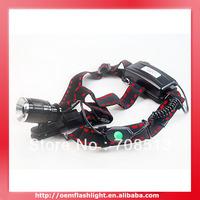 CLAIRVOYANCE Cree XM-L T6 3-Mode Zoom Headlamp (2 x 18650)