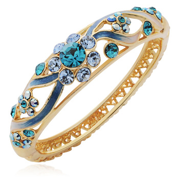 FREE SHIPPING Ring anna small bracelet vintage fashion crystal cloisonne gift