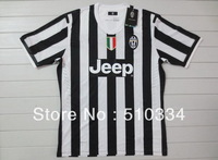 Authentic Quality!!! 13/14 Juventus Home  Soccer Shirt,Thailand Quality Football Jersey+Juventus Player Version Shirt