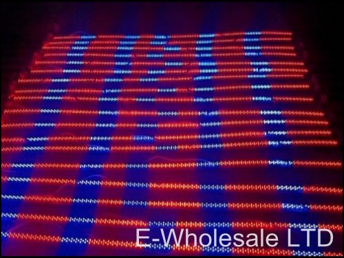 15W Strip LED Plant Hydroponics Grow Lights LED Tube + RED:BLUE 192:96(Four Blue-ray)(China (Mainland))