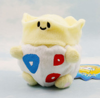 "Free Shipping 10PCS Pokemon Plush Toy Togepi plush 5"" Cute Soft Stuffed Animal Doll Kid Gift"