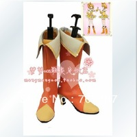 Wholesale/retail freeshipping hot sale Cheapest Cosplay Shoes & Boots We are Pretty Cure Cure Pine Christmas Halloween 910