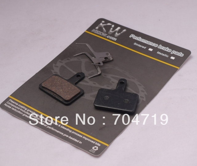 Free shipping!!! One pair disc brake pads suit SHIMANO DEORE M515 M525 TEKTRO Auriga M465 M486 M485 M495(China (Mainland))