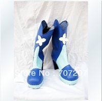 Wholesale/retail freeshipping hot sale Cheapest Cosplay Shoes & Boots We are Pretty Cure Cure Aqua Christmas Halloween 406