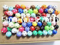 New Style 12MM Mixed Color  Bling Acrylic Beads 550pcs/lot Round Chunky Beads Fashion Rhinestone Beads for Making Bracelets!!