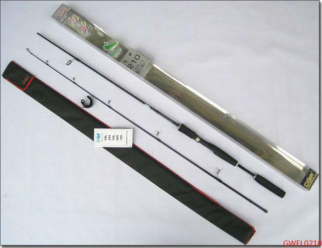 Fly Fishing Rod Carbon Fiber Telescopic 2.1M Sea Fishing Lure Pole Fishing Tackle GWFL0210(China (Mainland))