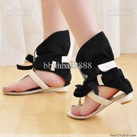 Rome Style Fashion Summer Flat Leather Sandals For Women Dress Casual Ankle Female Oxford Shoes