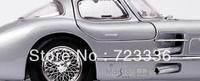 free shipping 1:18 diecast Mercedes benz 300SLR AMG alloy car model