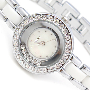 Kimio quartz watch elegant rhinestone fashion watch ladies bracelet watch(China (Mainland))