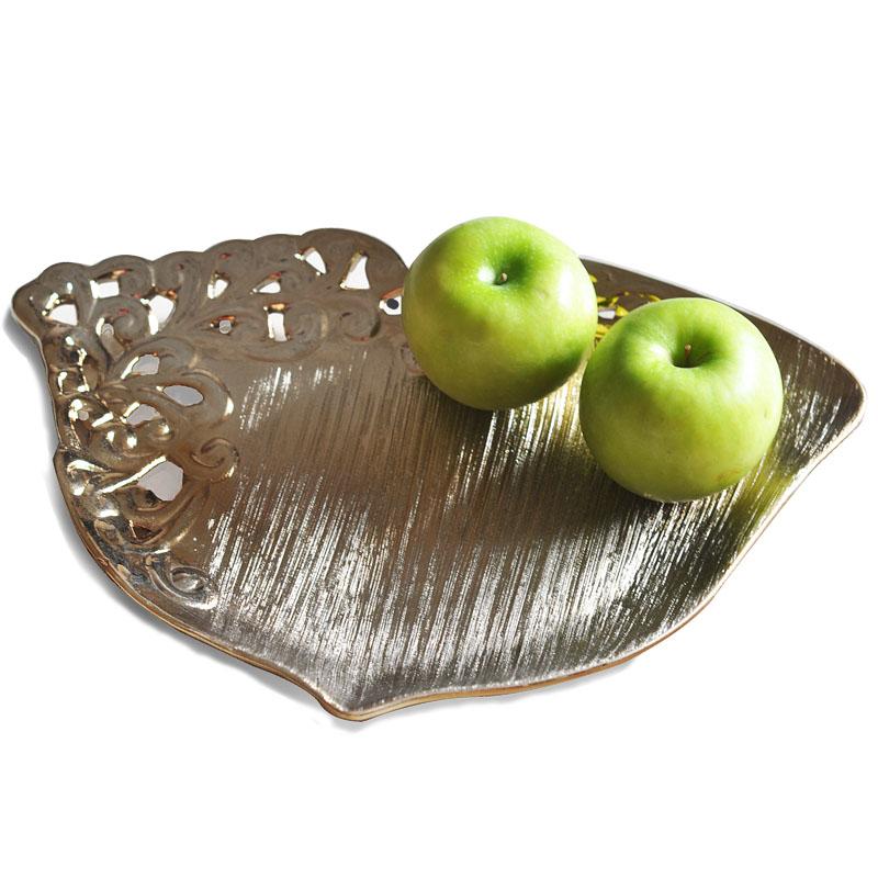 Cerâmica recorte de frutas placa de forma seca bandeja de frutas prato de frutas bandeja lanche sementes definir a bandeja de doces pallet fruteira(China (Mainland))