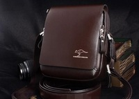 free shipping Business&leisure real shoulder men bag with ,kangaroo shoulder bags NB9