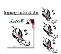 wholesale retail drop shipping fly butterfly Good quality Temporary tattoos Waterproof tattoo stickers body art Painting