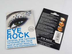 wholesale 3 styles sexy bling eye rock sticker crystal eye liner decoration cosmetics makeup buy 20packs get 2packs for free(China (Mainland))