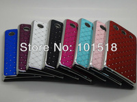 10pcs/lot Free shipping New Luxury Bling Diamond Crystal Star Hard Case Cover for Huawei U8951D Ascend G510