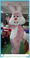 Newest Bunny mascot Costume Carnival Costume Mascot Costume Fur Costume Free Shipping