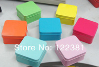 24 pcs Wedding Candy Chocolate Gifts More Color Square Tin Favor Boxed For Wedding Party Free Shipping