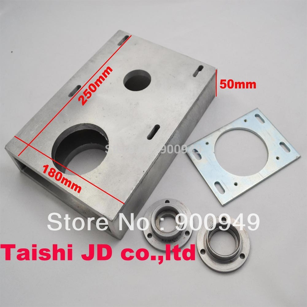 FREE SHIPPING CNC GEAR BOX/STEPPER MOTOR GEAR END SUPPORT/CNC SPARE PARTS(China (Mainland))